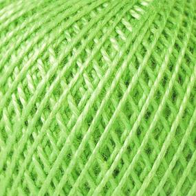 Нитки для вязания Ирис 100% хлопок 25 гр 150 м цвет 3908 нежные побеги фото