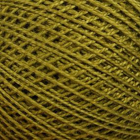 Нитки для вязания Ирис 100% хлопок 25 гр 150 м цвет 4506 зеленый фото