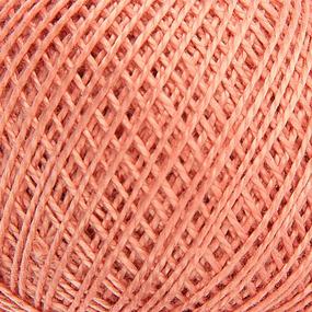 Нитки для вязания Ирис 100% хлопок 25 гр 150 м цвет 5602 светло-терракотовый фото