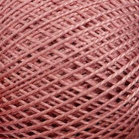 Нитки для вязания Ирис 100% хлопок 25 гр 150 м цвет 5704 бледно-малиновый фото