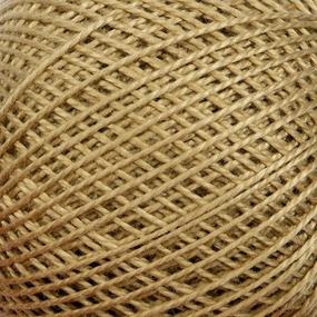 Нитки для вязания Ирис 100% хлопок 25 гр 150 м цвет 6604 бежевый фото