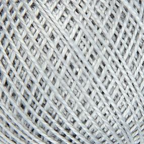 Нитки для вязания Ирис 100% хлопок 25 гр 150 м цвет 7002 светло-серый фото