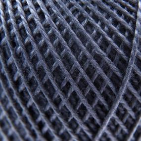 Нитки для вязания Ирис 100% хлопок 25 гр 150 м цвет 7004 серый фото