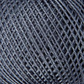 Нитки для вязания Ирис 100% хлопок 25 гр 150 м цвет 7110 синий фото