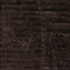 Ткань на отрез велсофт Orrizonte 300 гр/м2 200 см цвет шоколад фото