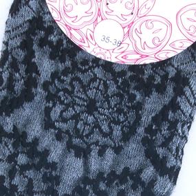 Женские носки Гранд XCL75/1 цвет черный размер 23-25 фото