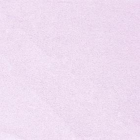 Простынь на резинке махровая цвет розовый 140/200 см фото
