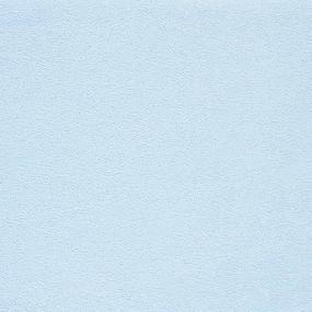 Простынь на резинке махровая цвет голубой 140/200 см фото