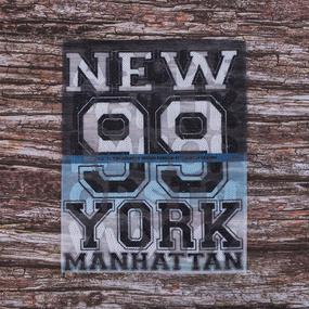 Декоративный элемент пришивной New York 99 Manhattan 20,5*25 см фото