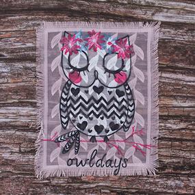 Декоративный элемент пришивной owldays 20,5*25,5 см фото