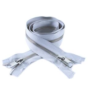 Молния металл №10 RR никель два замка 100см D316 серый фото