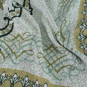 Покрывало гобелен Пикассо зеленый 147/210 фото