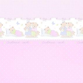 Маломеры поплин 150 см 1703/4 розовый 5.07 м фото