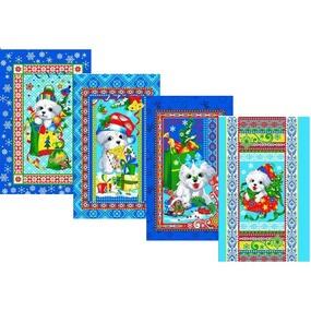 Набор вафельных полотенец 4 шт 35/60 см 589/1п фото