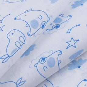 Ткань на отрез бязь 120 гр/м2 детская 150 см 9255 Умка фото