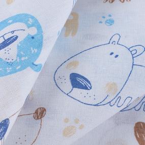Ткань на отрез бязь 120 гр/м2 детская 150 см 9280 Собачки фото