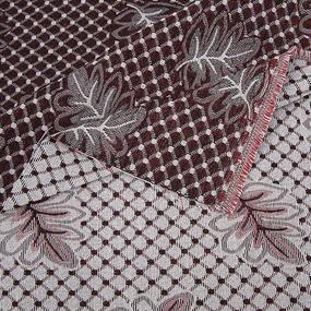 Ткань на отрез гобелен 150 см А56 красный фото