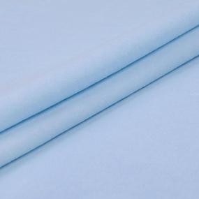 Ткань на отрез фланель 75 см цвет голубой фото