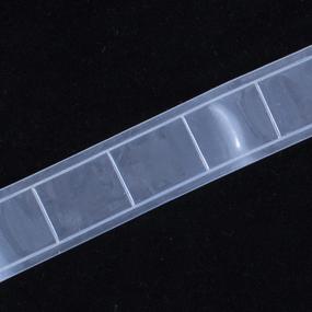 Тесьма светоотражающая 25мм белая уп 5 м фото