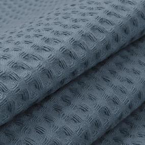 Полотенце вафельное банное Премиум 150/75 см цвет 973 серый фото