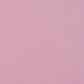 Ткань на отрез футер 3-х нитка компакт пенье начес цвет светло-розовый фото