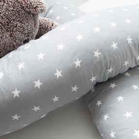 Подушка для беременных U-образная 1700/17 цвет серый фото