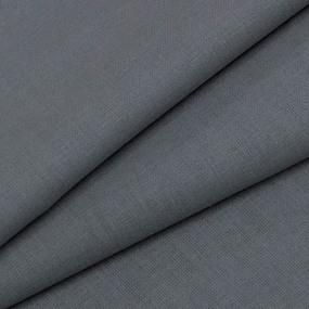 Ткань на отрез бязь гладкокрашеная ГОСТ 150 см цвет серый фото