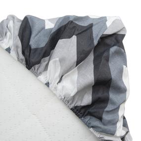 Простыня на резинке бязь 791-1 Соренто компаньон 90/200/20 см фото