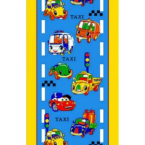 Вафельное полотно 45 см 170 гр/м2 329В цвет синий фото