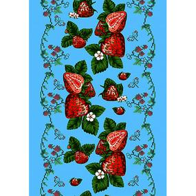 Вафельное полотно 45 см 170 гр/м2 421В цвет бирюза фото