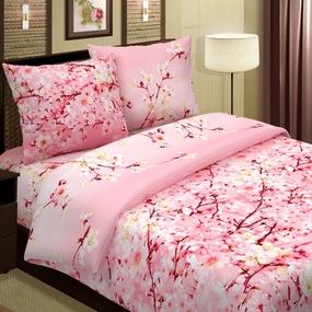 Ткань на отрез поплин 220 см 574-1 Сакура цвет розовый фото