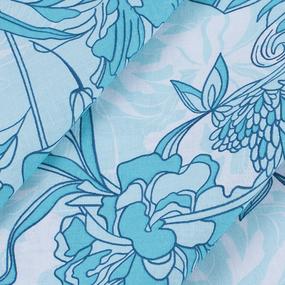 Маломеры бязь ГОСТ Шуя 220 см 20018/1 Цветочный бриз 1.6 м фото