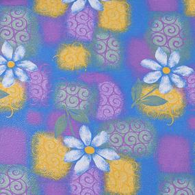 Ткань на отрез фланель 80 см 20051 Ромашки фото