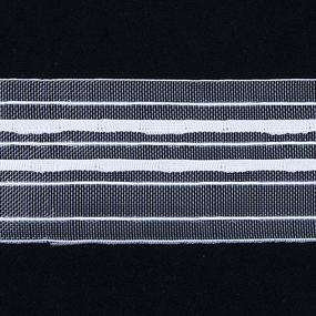 Тесьма шторная Престиж 319К ширина 60 мм (50 м) цвет белый фото