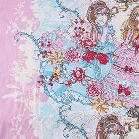 Ткань на отрез поплин 150 см 2109 Принцессы фото