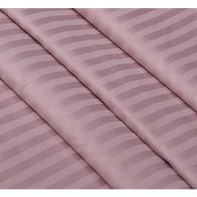 Ткань на отрез страйп сатин полоса 1х1 см 220 см 120 гр/м2 цвет 730/2 роза фото