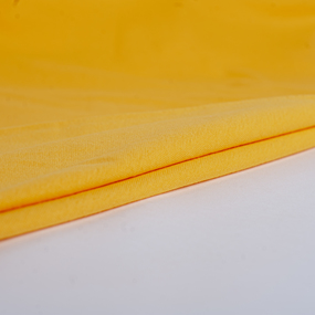 Мерный лоскут рибана с лайкрой М-2029 цвет желтый 1,1 м фото