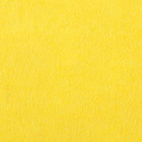 Фетр листовой мягкий IDEAL 1 мм 20х30 см FLT-S1 упаковка 10 листов цвет 643 желтый фото