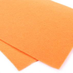 Фетр листовой мягкий IDEAL 1 мм 20х30 см FLT-S1 упаковка 10 листов цвет 645 бледно-оранжевый фото