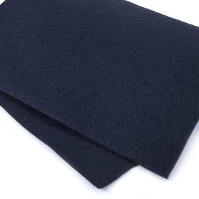 Фетр листовой мягкий IDEAL 1 мм 20х30 см FLT-S1 упаковка 10 листов цвет 655 черный фото