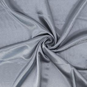 Ткань на отрез креп-сатин 1960 цвет серый фото