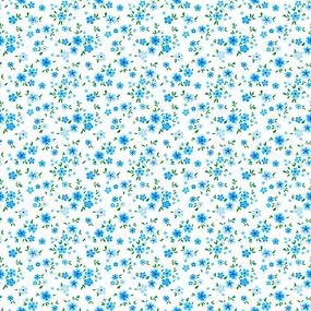 Ткань на отрез ситец 95 см 18982/2 Цветы фото