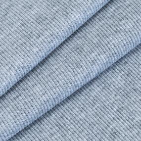 Ткань на отрез кашкорсе 3-х нитка с лайкрой 4985-1 цвет серый меланж фото