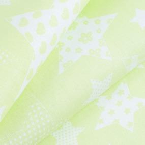 Маломеры бязь плательная 150 см 1683/1 цвет салатовый 0.9 м фото