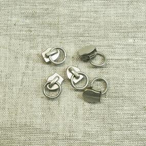 Бегунок спираль №5 С5-1043 никель сумка фото