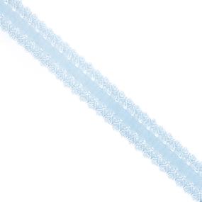Резинка TBY бельевая 20 мм RB04183 цвет F183 голубой 100 м фото