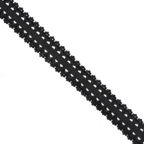 Резинка TBY бельевая 20 мм RB04322 цвет F322 черный 100 м фото