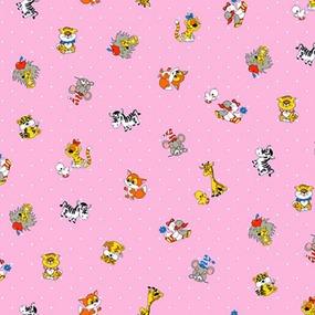 Бязь ГОСТ детская 150 см 1408/4 цвет розовый фото