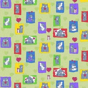 Бязь ГОСТ детская 150 см 1469/2 цвет зеленый фото
