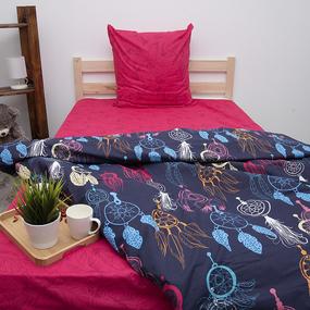 Постельное белье из поплина 70167/2 Ловец снов 2-х сп с евро простыней фото
